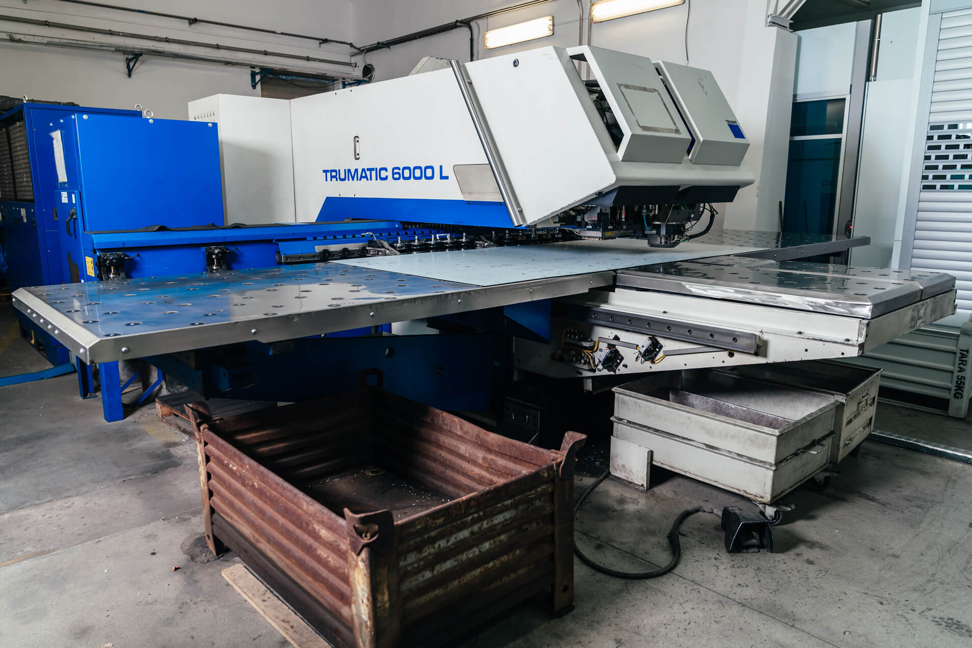 Machine TRUMATIC 6000 L - cutting and laser